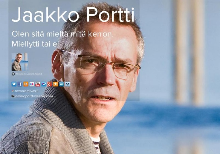 Jaakko Portti's page on about.me – http://about.me/JaakkoPortti
