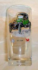 Vintage Pure Oil Company Firebird Glass Tumbler 1964 Barware 1914 Buick RARE