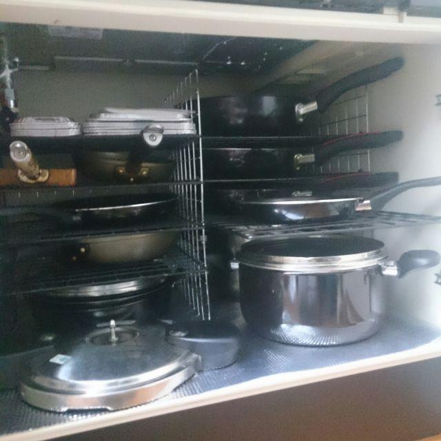 やってみたら使いやすい!重ねないキッチン収納 | RoomClip mag | 暮らしとインテリアのwebマガジン