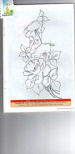 Curso Básico de pintura em tecido 3 - _(°.°)_KITERIA - Álbuns da web do Picasa