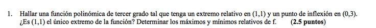 Ejercicio 1A 2006-2007 Junio. Propuesto en examen pau de Canarias. Matemática. Continuidad, derivabilidad y representación de funciones. Límites.