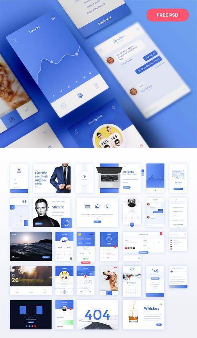 デザイナーが今年参考にしたい、Web & モバイルの無料UIデザイン30個まとめ