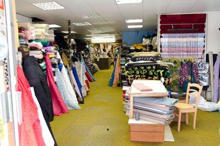 Mermaid Fabrics - Hackney's Premier Fabric Shop