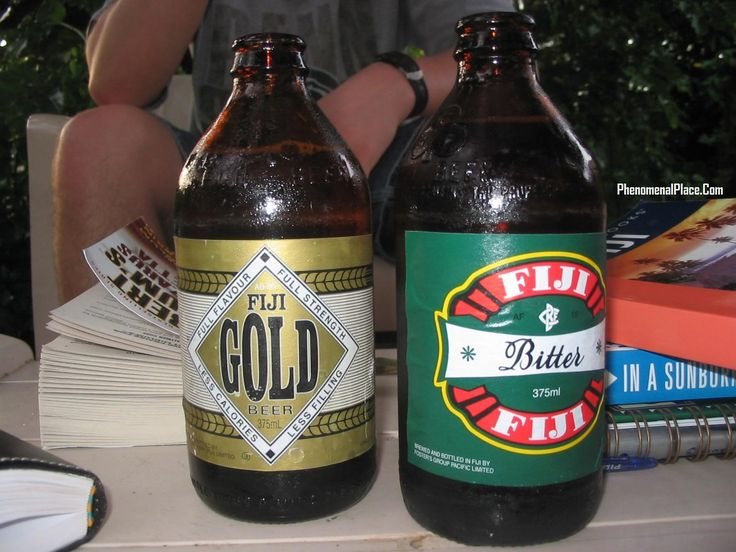 This beer from the Fiji Is. in the Pacific isn't much for being a strong beer, but it has a great flavor.