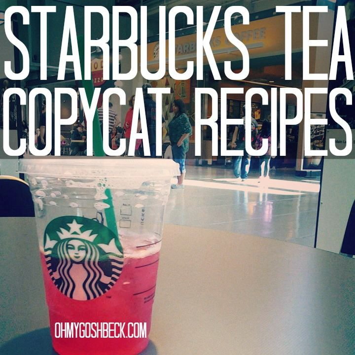 Starbucks Tea Copycat Recipes That Aren't Dumb #recipes #starbucks #tea