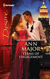 TERMS OF ENGAGEMENT by ANN MAJOR:   He's set his plan into motion. Billionaire Quinn Sullivan is so close to taking over his enemy's beloved company. He simply has to marry his rival's youngest daughter. But when Kira Murray begs him not to seduce her sister, Quinn can't help being intrigued. He'll set aside his wedding plans...but only for a price the lovely Kira must willingly pay. #romance #AnnMajor #AnnMajorClassics #contemporary #read #romancenovel #book #readinglist #amreading #passion