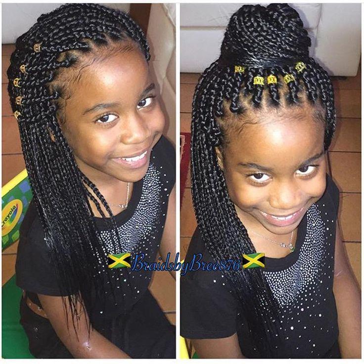 Black Children S Hairstyle Braidsbybree876 S Work