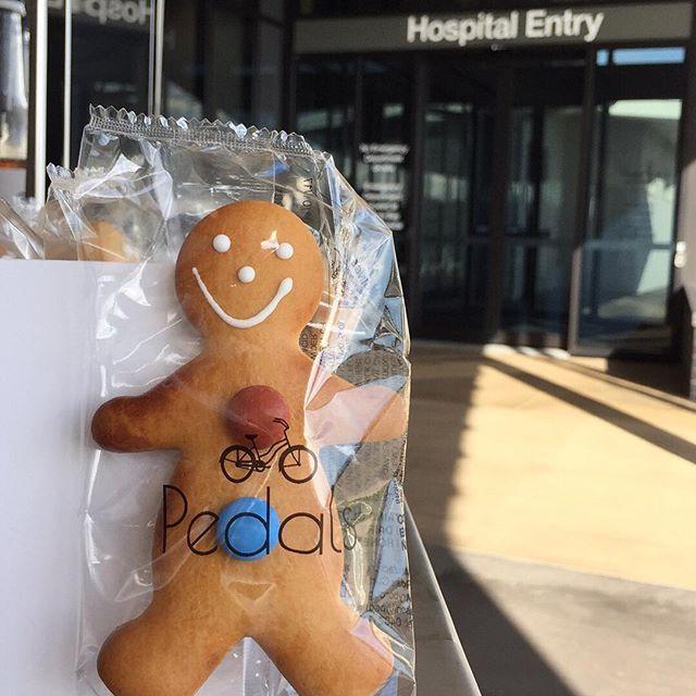 New ginger bread men!! #pedalsespressohbc #pedalsespresso