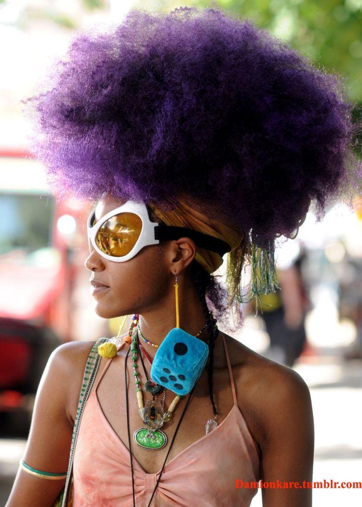 afro punks - style