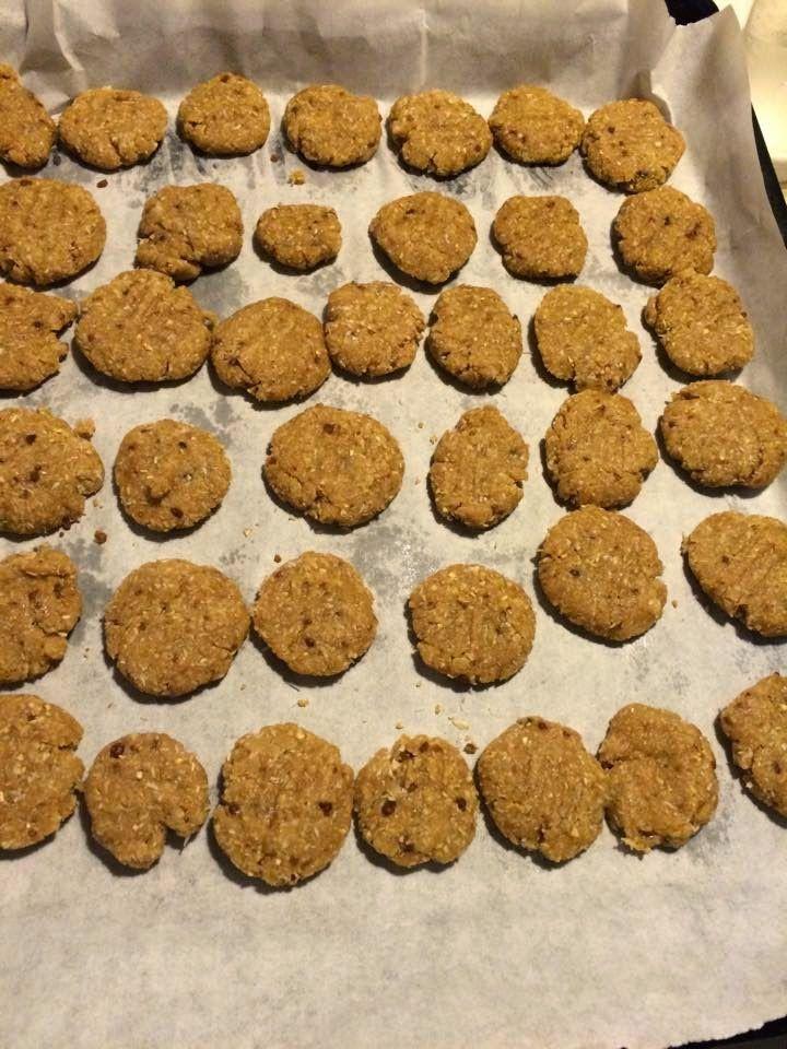 Mammarum: Biscotti fiocchi d'avena e cocco