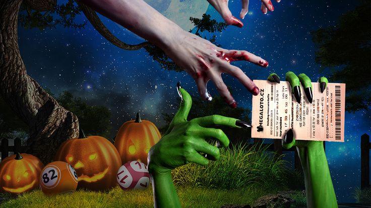 Halloween on www.MegaLoto.cz