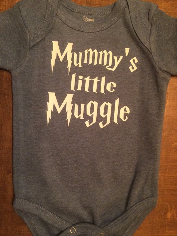 Harry Potter Inspired Mummy's or Mommy's Little by UpShirtsCreek