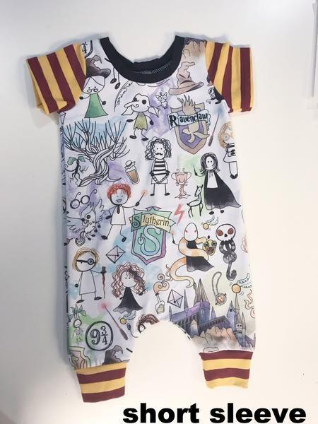 4ce6c4c9d Harry Potter Romper OR Leggings | Rainn | Baby boy fashion, Baby boy ...