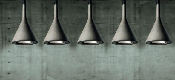 Foscarini lampe betong