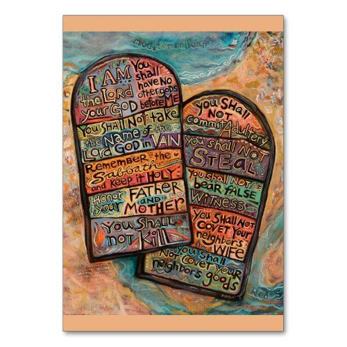 The Ten Commandments By Dave Quiggle Custom Picture Frame Picture Frames Art Gallery