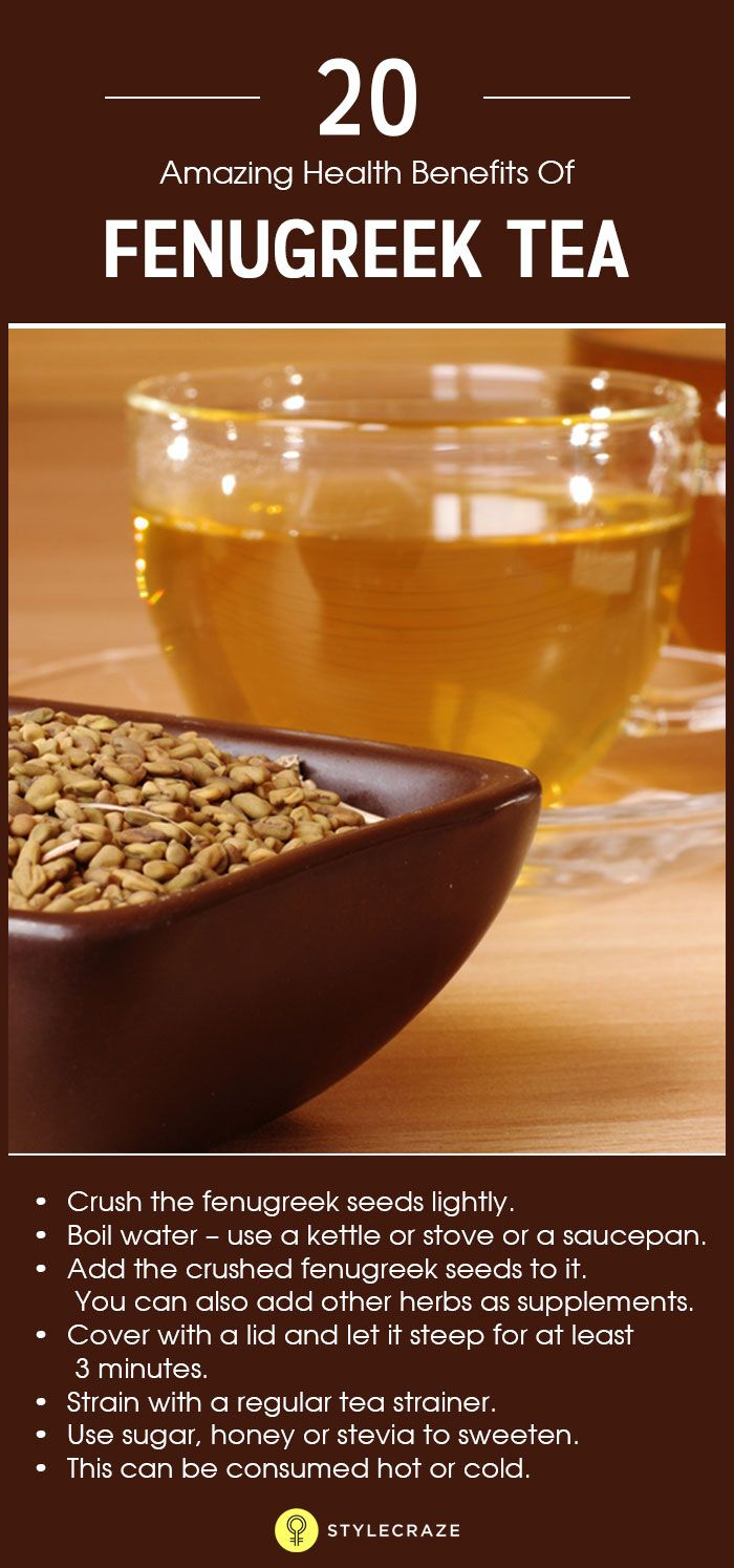 Herbs for weight loss 11 Incredible Benefits Of Fenugreek Tea + How To Make It