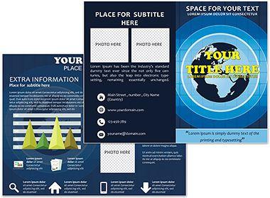 Best Brochure Templates Images On Pinterest Brochures Role - Print brochure templates