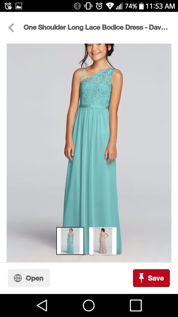 Dorable Turquoise Junior Bridesmaid Dresses Motif - All Wedding ...