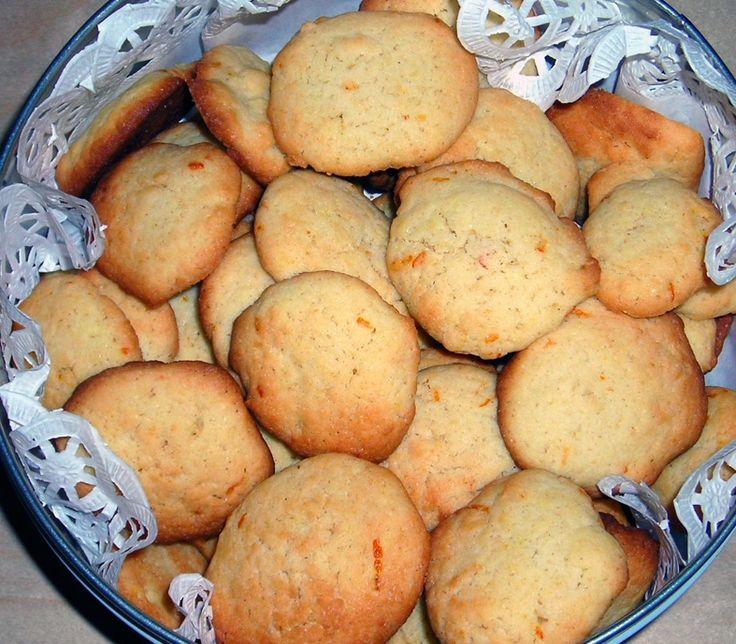 Receta de galletas de naranja sin azúcar - Dulces