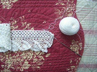 Tizy: Al termine di una lunga giornata/Crochet edge