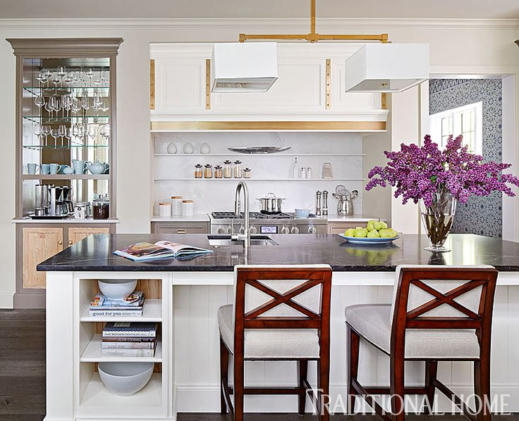 1000 images about kitchens we love on pinterest small for Christopher peacock kitchen cabinets