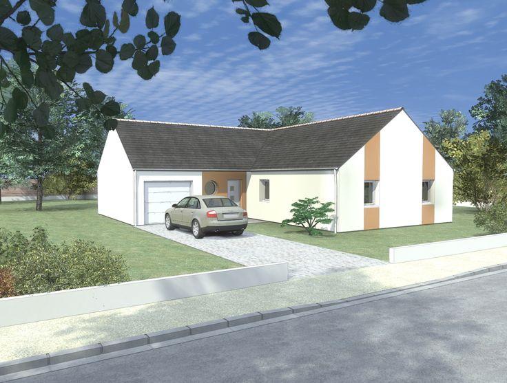 Maison en l faire construire par le constructeur - Modele de maison a construire ...