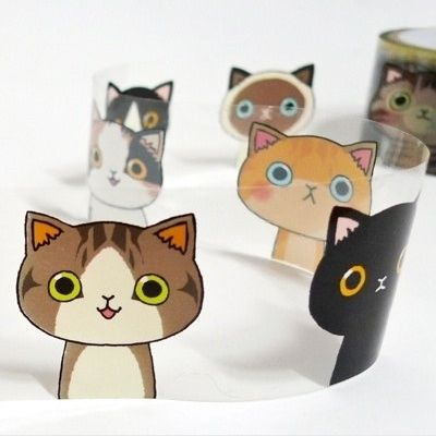 Kawaii illust tape this is great for diary scrapbooking for Decor 07834