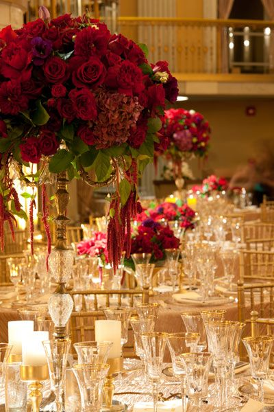 tall wedding centerpieces.  Flowers of Charlotte loves this! Find us at www.charlotteweddingflorist.com
