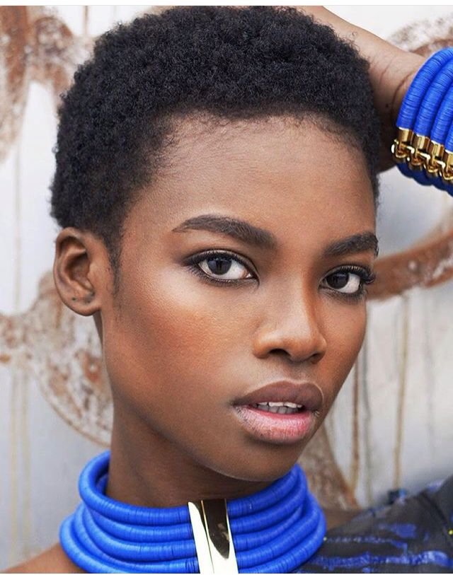 Super model Maria Borges  @iammariaborges || Dark Bella. Models with Twa. Models with natural hair. Models with Afro hair.