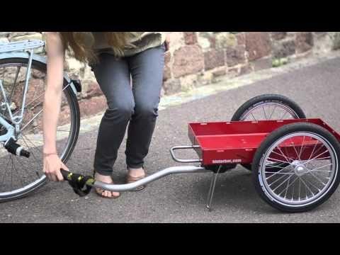 fahrrad lastenanh nger pinterest 17 hund fahrrad. Black Bedroom Furniture Sets. Home Design Ideas