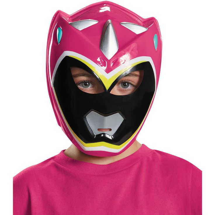 Pink Ranger Dino Charge Mask