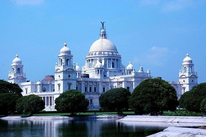 India. Victoria Memorial, Calcutta,