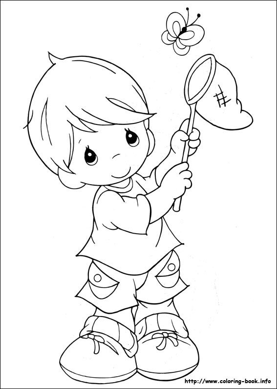 609 best images about Coloring pages: Precious Moments on ...