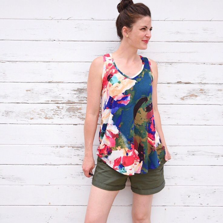 The Pony Tank is a knit top or dress with an A-line shape and curved hem. Size Range:0 – 18 Sewing Level: ADVANCED BEGINNER The Pony Tank pattern offers twoviews. View A: Tank Top View…