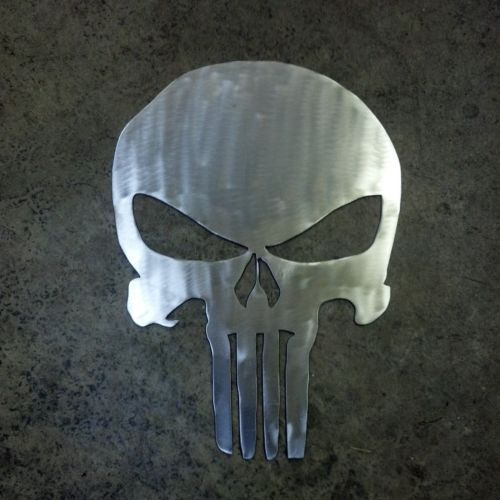 Punisher Skull Metal Wall art Decor | Home Deco Love