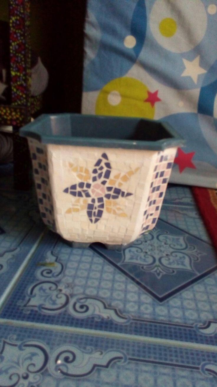 tile mosaic pots