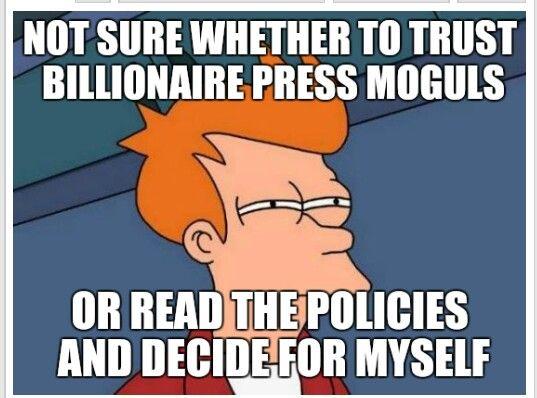 MSM media voting meme