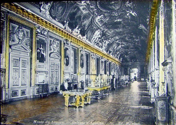 The Louvre - Galerie Apollon - Paris