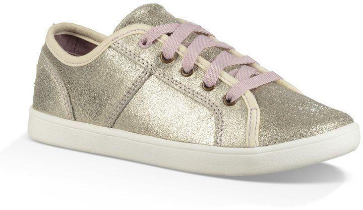 UGG Girls Irvin Metallic Sneakers