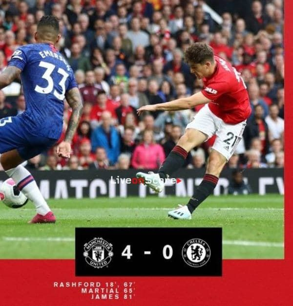 Manchester United 4 0 Chelsea Full Highlight Video Premier League Allsportsnews Football Highlightvide Manchester United The Unit Manchester United Fans