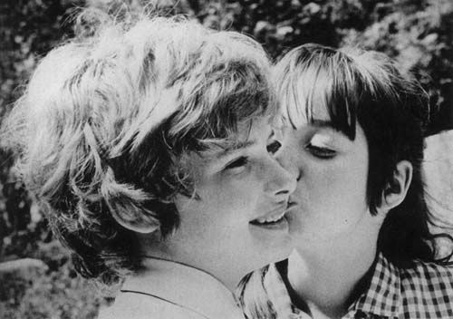 Mark Lester and Tracy Hyde {1971}