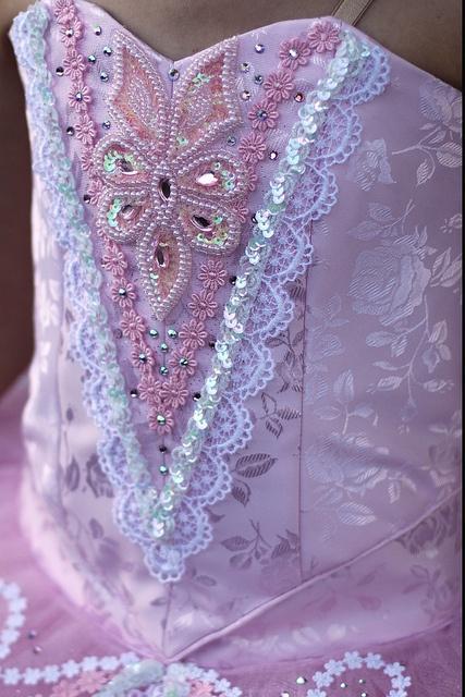 Sugar Plum Fairy tutu detail by Angelasews, via Flickr