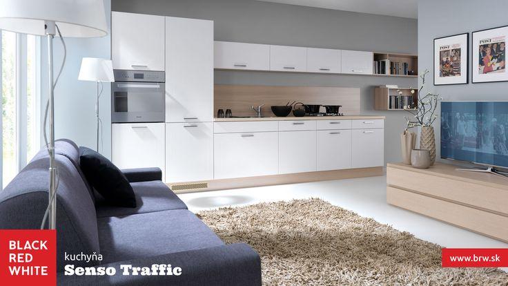 Kuchyňa na mieru Family Line, prevedenie Pesen 2 od Black Red White. Navštívte naše kuchynské štúdiá #kuchyna #kitchen #home #family #interior #blackredwhite