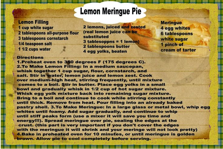 Another old recipe from a well used recipe card: