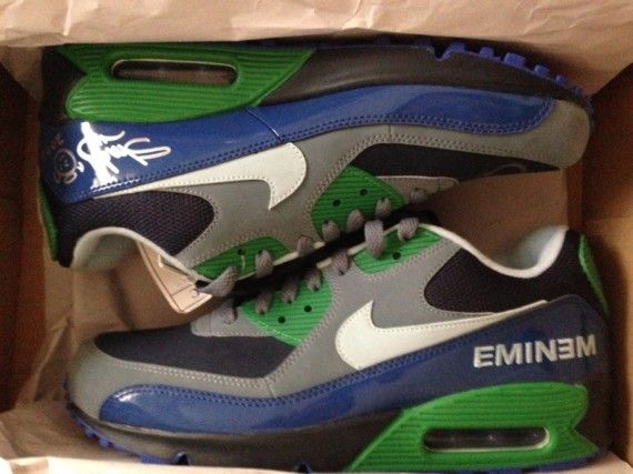 Eminem x Nike Air Max 90 Promo on eBay - SneakerNews.com | Nike ...