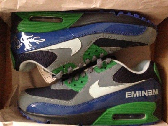 air max pas cher blanche - Eminem x Nike Air Max 90 Promo on eBay - SneakerNews.com | Shoes ...
