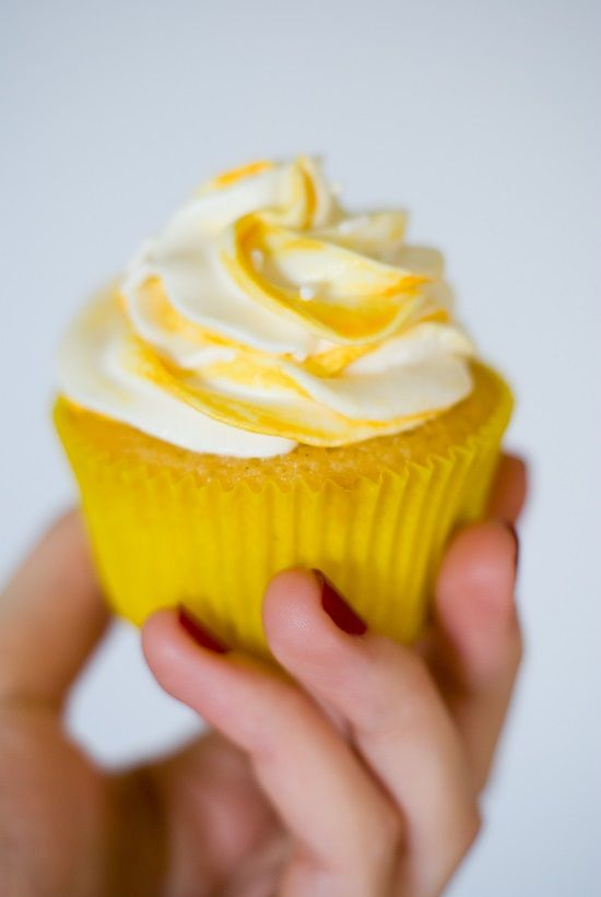 Cupcakes Vanille & Fruits de la Passion