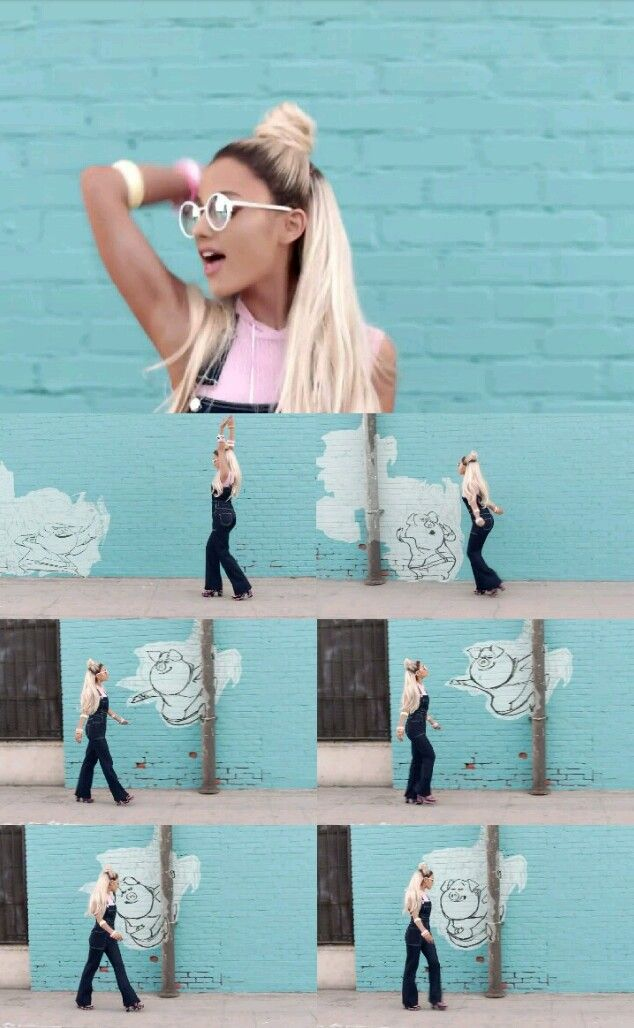 "♡ Ariana Grande in ""Faith"" music video ♡"