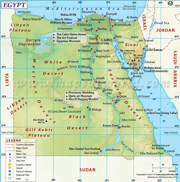 Best Country Maps Images On Pinterest Country Maps Travel - Map of egypt with major cities