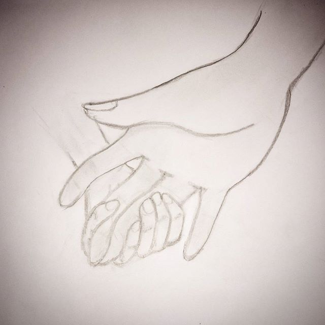We worry about what a child will become tomorrow, yet we forget that he is someone today. ~ Stacia Tauscher #draw #drawing #drawingrealistic #realisticdrawing #hands #child